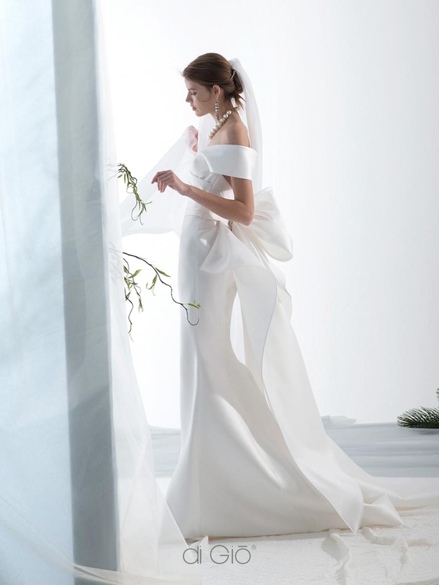 Abito da sposa a sirena in mikado di seta Le Spose di Giò