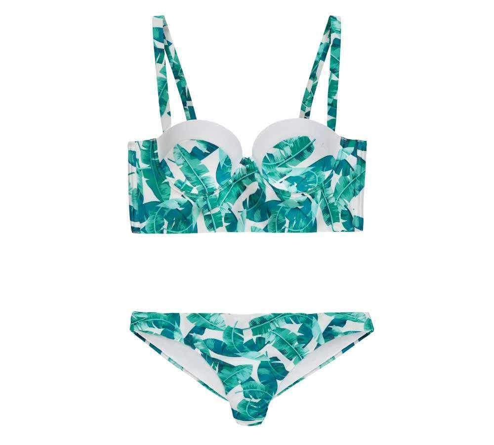 Bikini con corpetto stile bralette Tezenis
