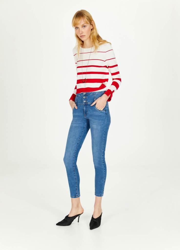 Jeans a vita alta OVS