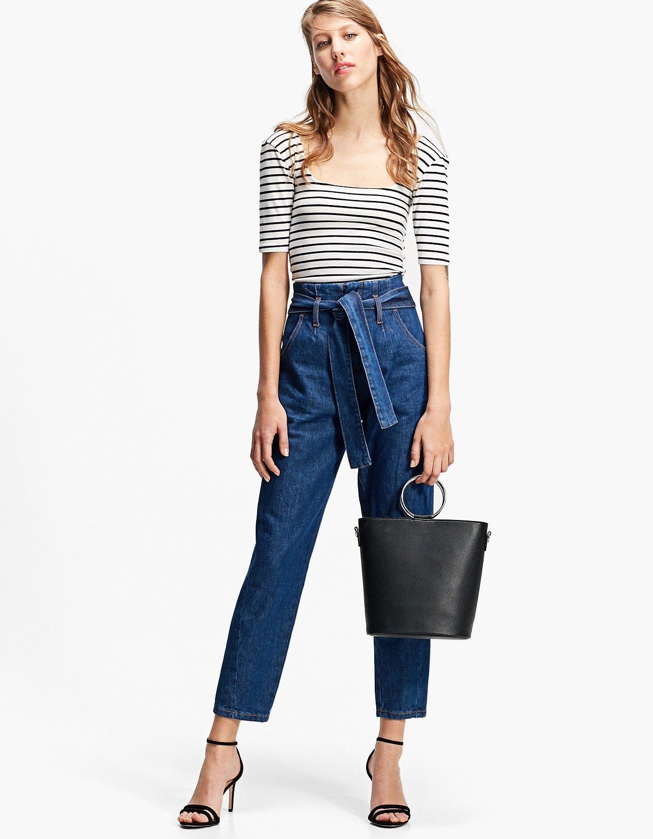 Jeans paper bag Stradivarius
