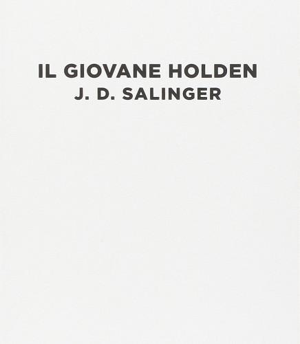 Libri da leggere Il Giovane Holden