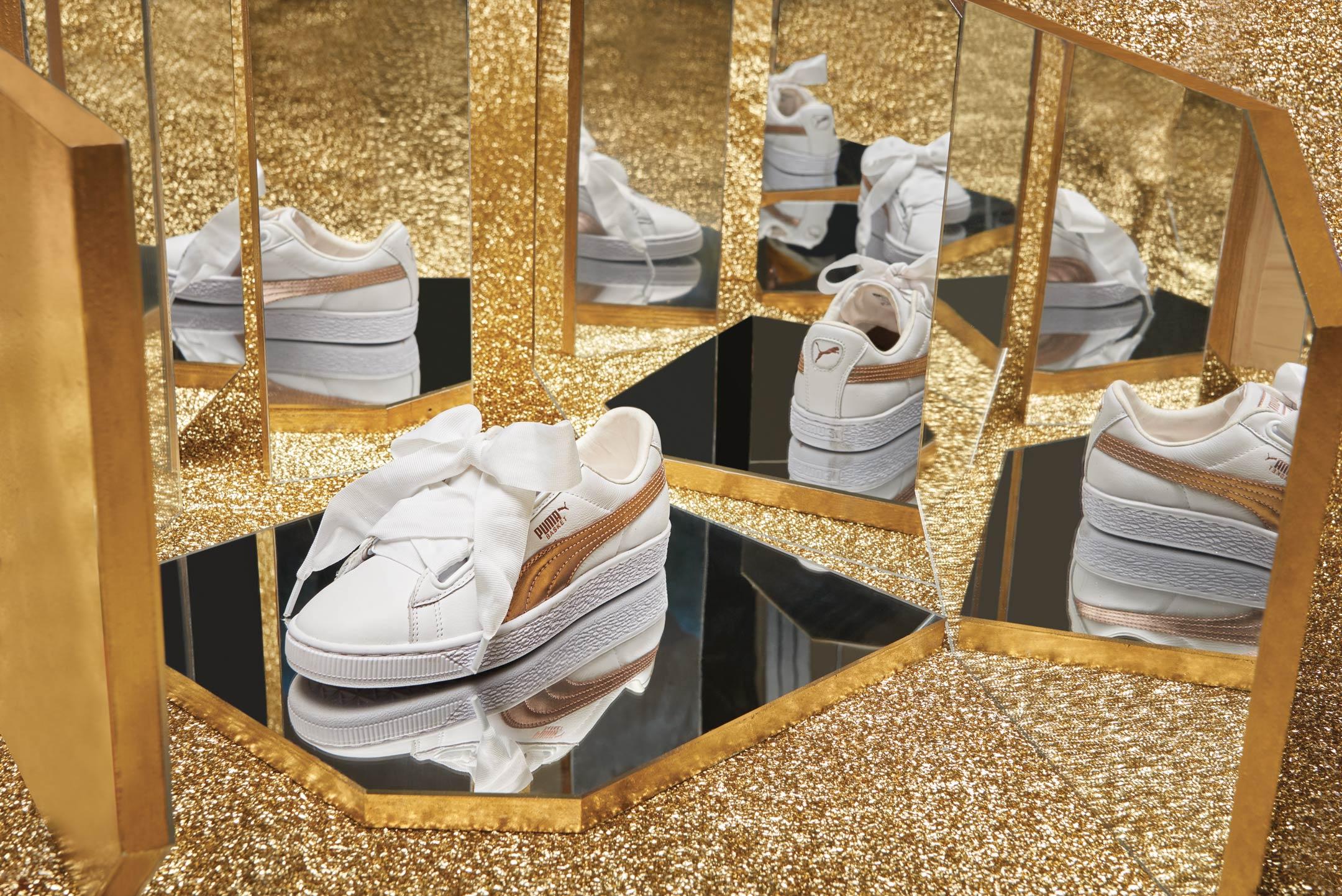 The Precious Pack, la versione 'glam' di sneakers iconiche in vendita da Aw Lab