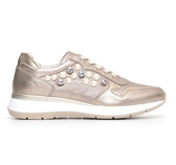 Sneakers alte con perle Nero Giardini