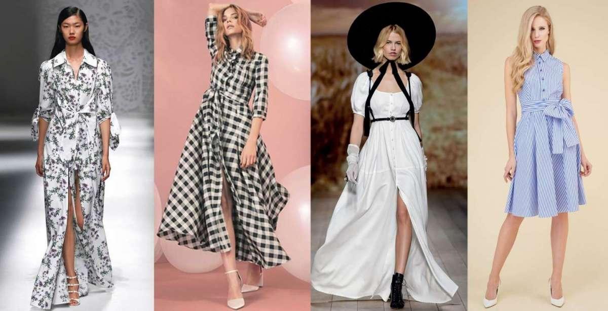 Abiti chemisier, i vestiti di tendenza della Primavera/Estate 2018