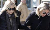 Rita Dalla Chiesa arriva in ospedale: 'Fabrizio Frizzi mancherà a tutti'