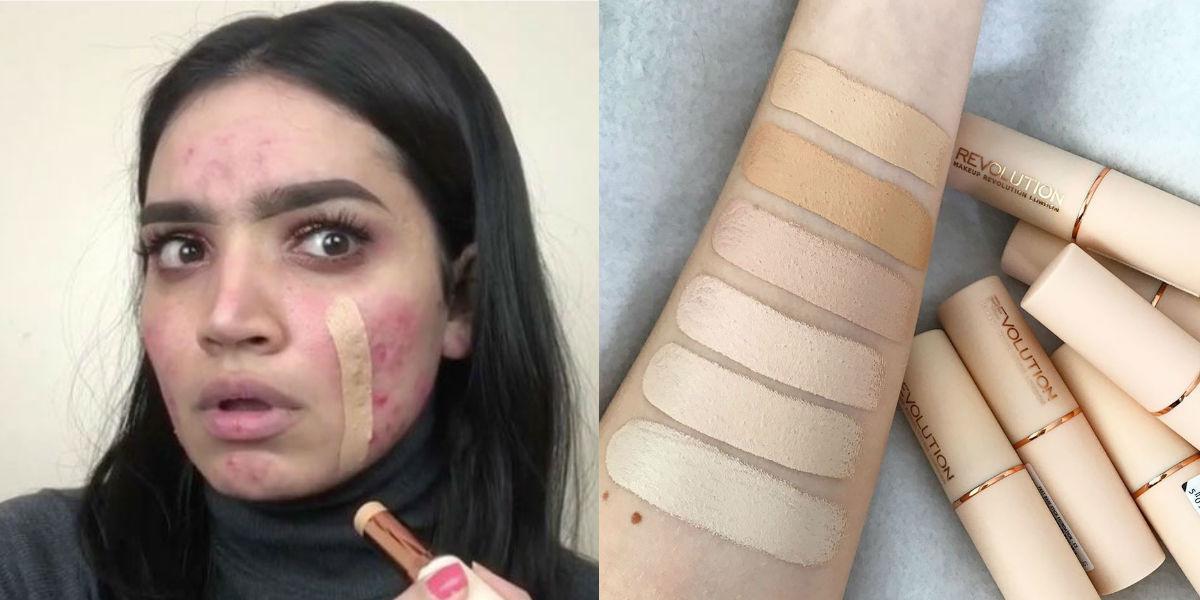 Coprire l'acne ora è possibile grazie a un fondotinta che costa solo 6 euro