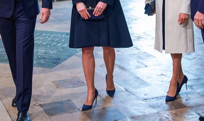 Meghan Markle, è giallo sulle scarpe uguali a Kate Middleton