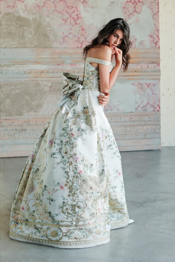 Abito da sposa Ivona,collezione Antonio Riva Gold Label
