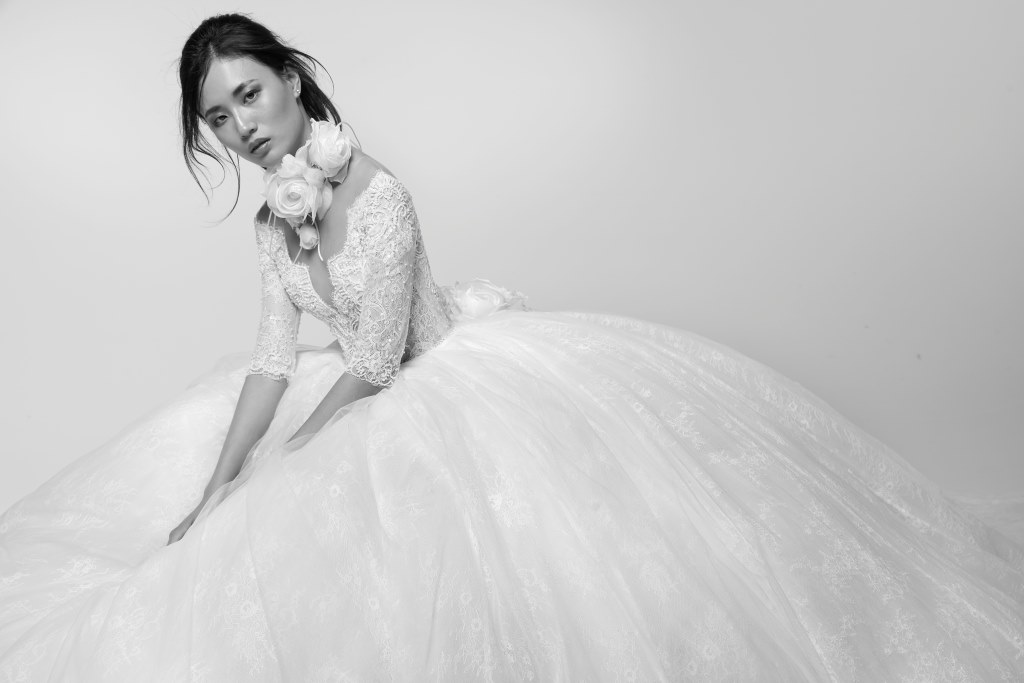Abito da sposa da principessa Alessandra Rinaudo