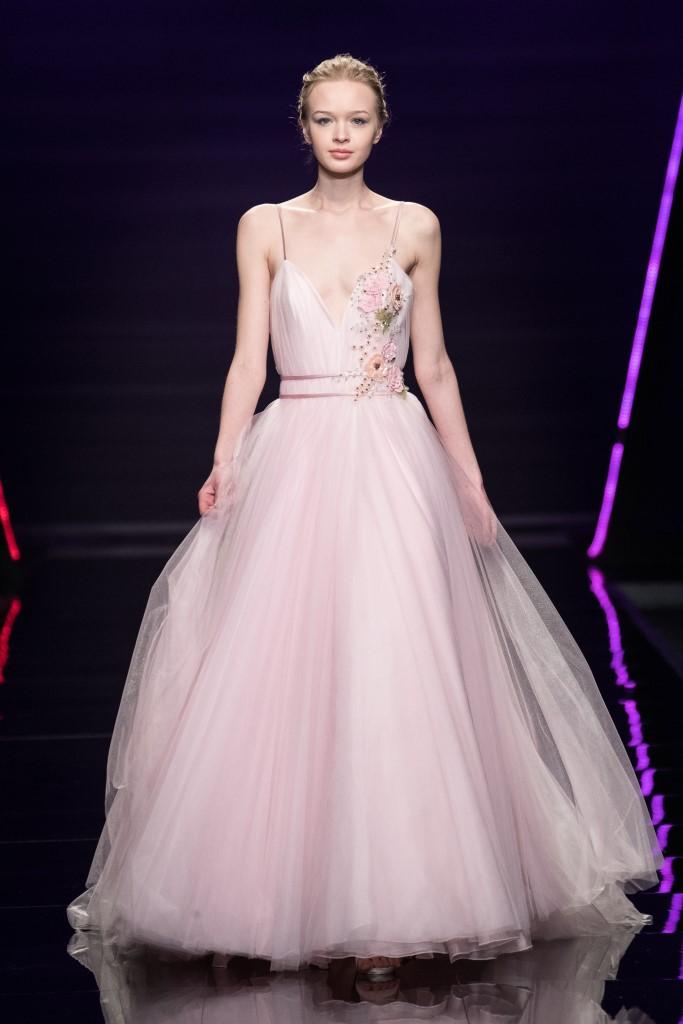 Abito da sposa da principessa rosa Blumarine