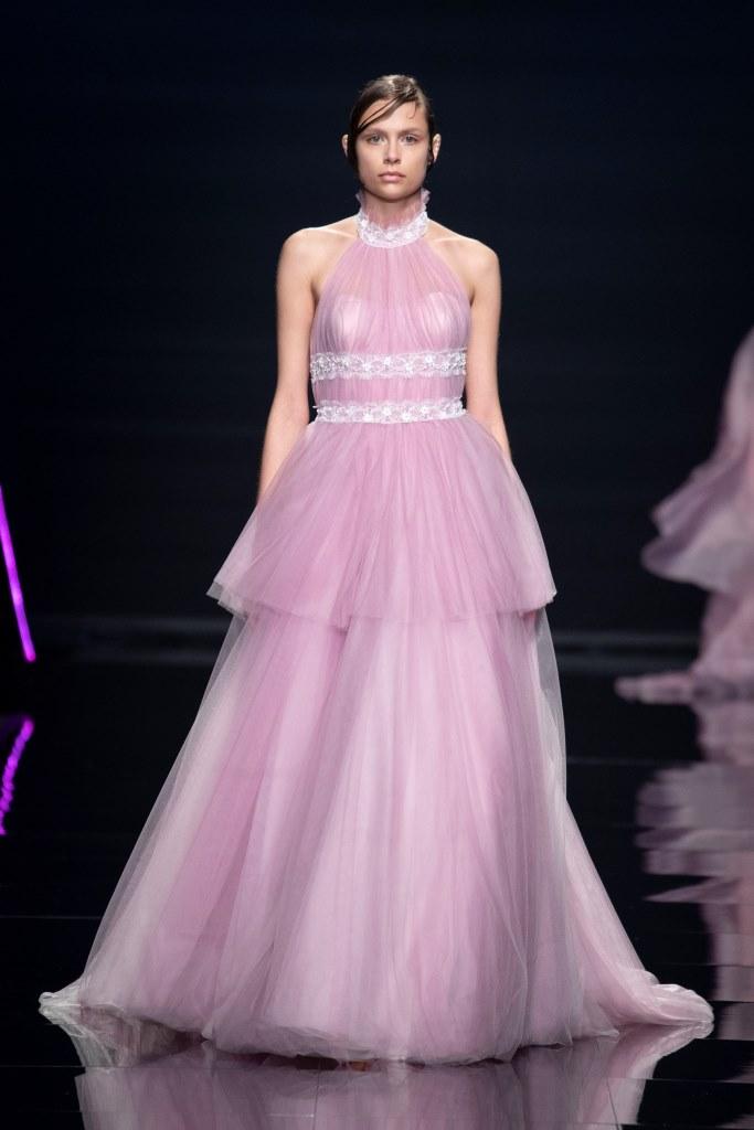 Abito da sposa gioiello rosa Blumarine