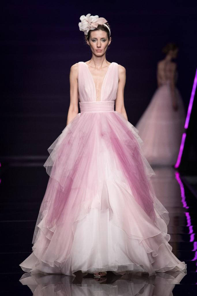 Abito da sposa rosa Blumarine