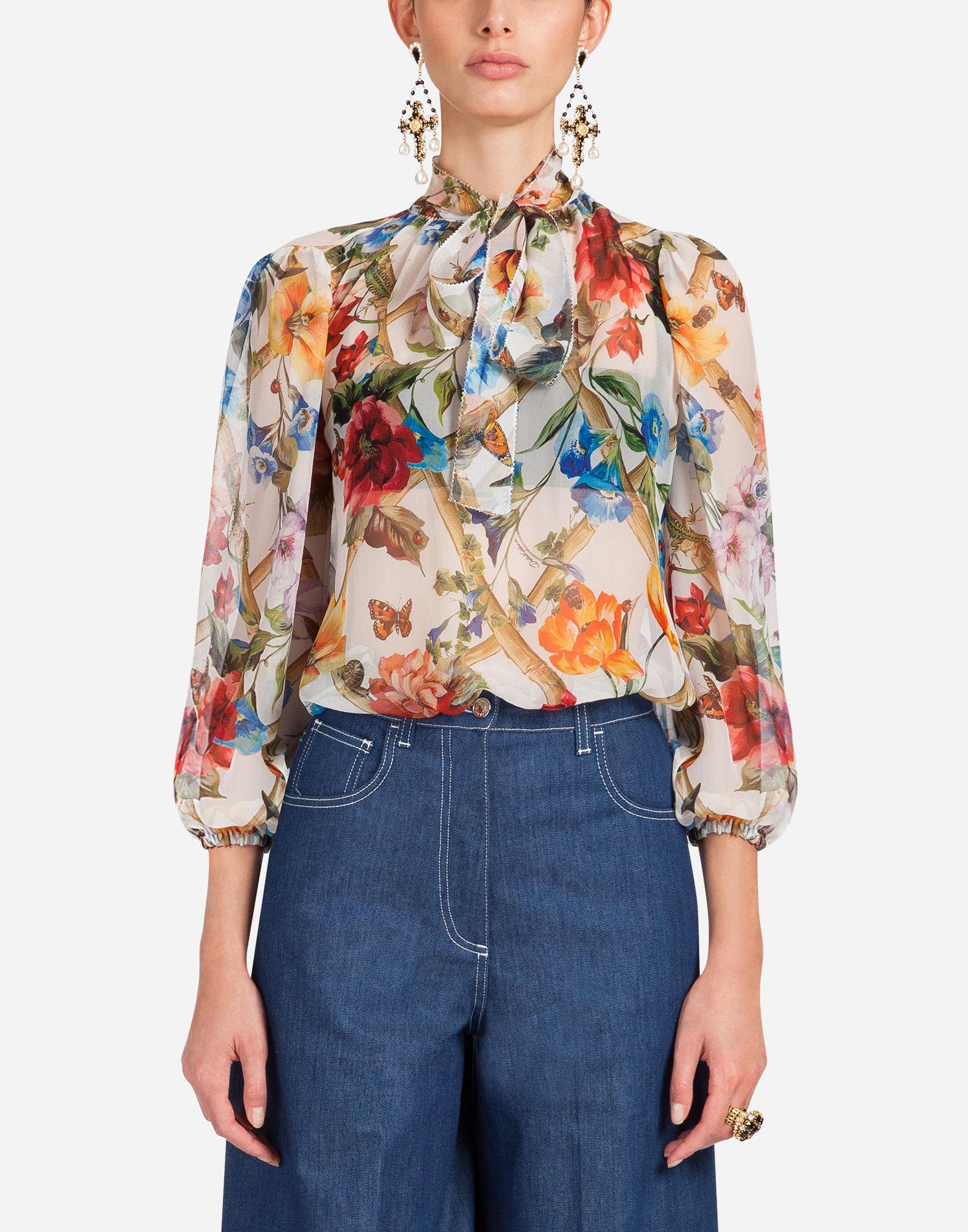 Camicia a fiori Dolce & Gabbana