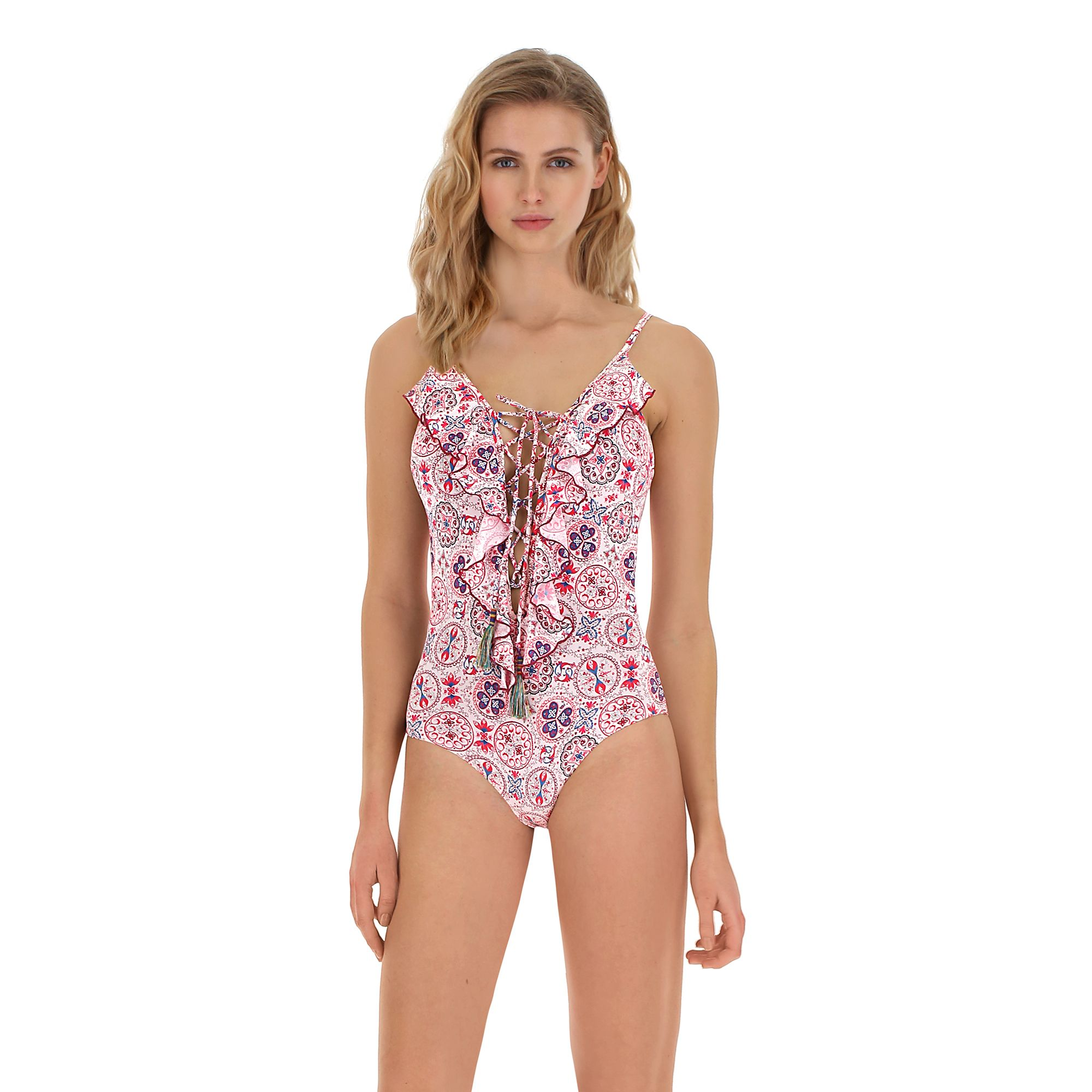 Costume intero con ruches Goldenpoint a 69,99 euro