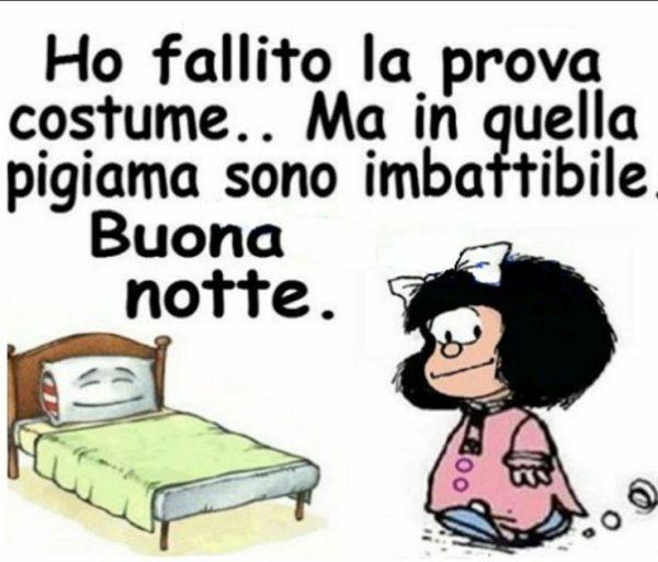 Immagini buonanotte Mafalda