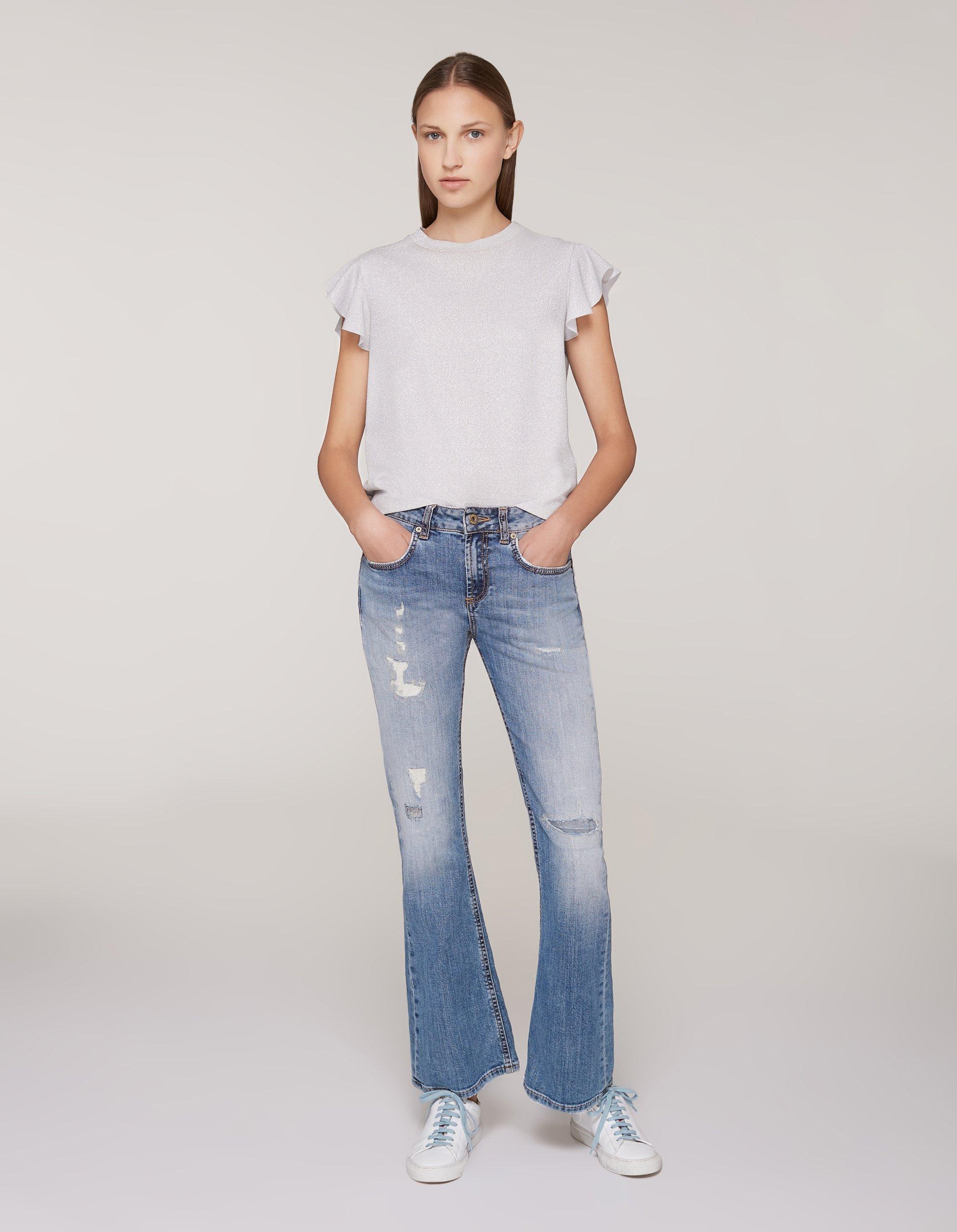 Jeans a zampa larga Dondup