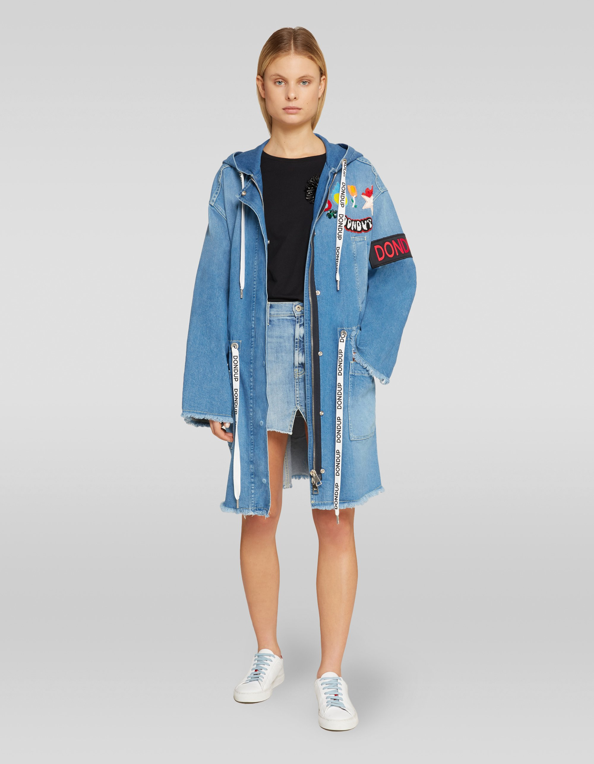 Parka in denim Dondup