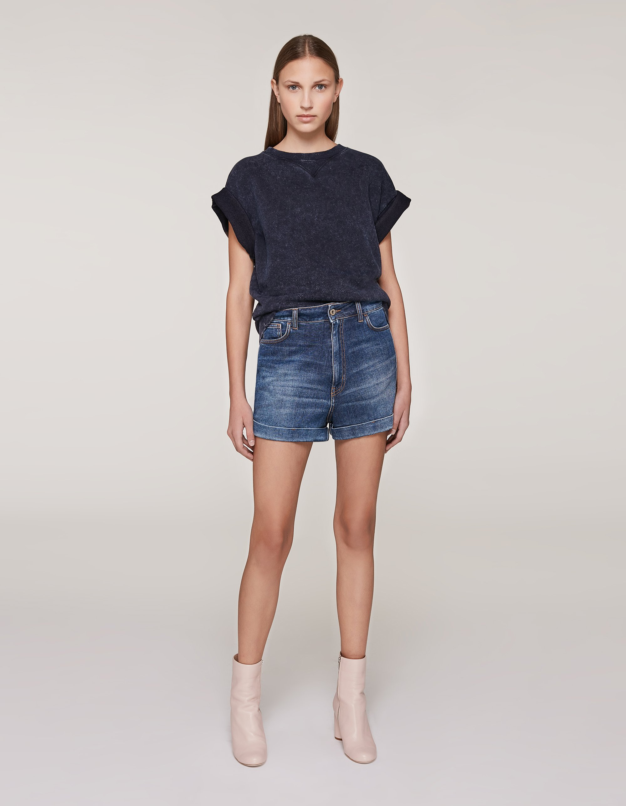 Shorts in denim Dondup