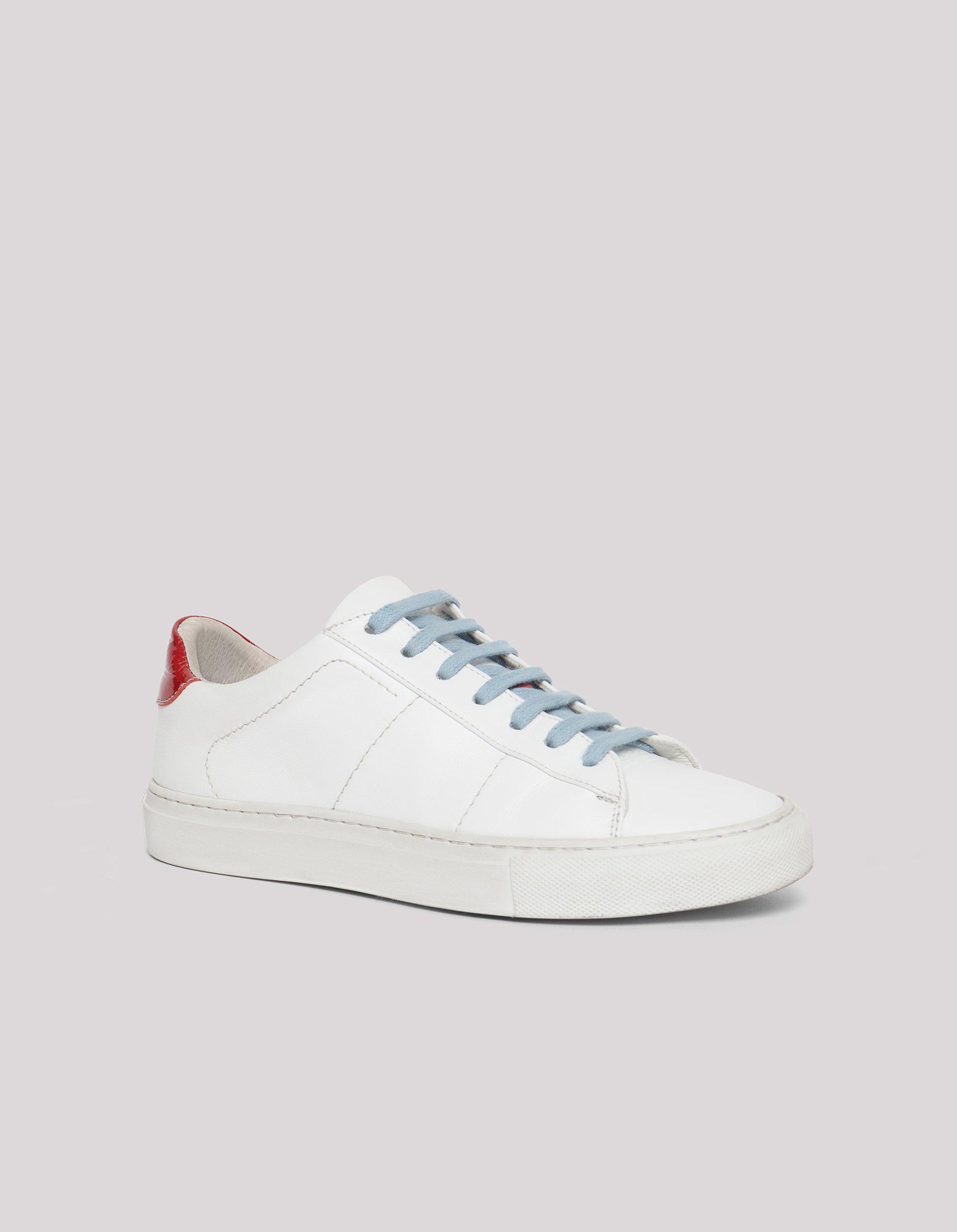 Sneakers di pelle Dondup