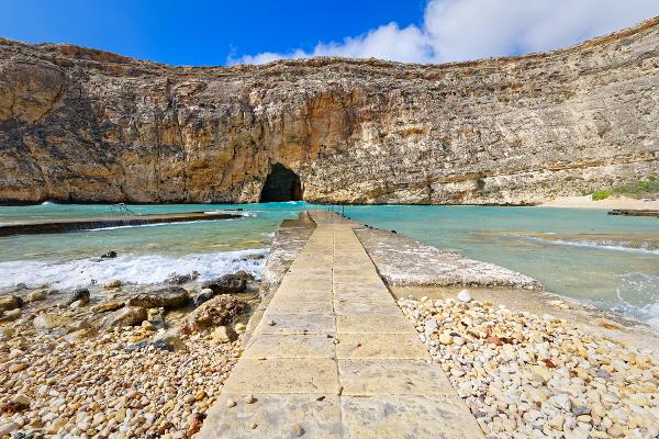Spiagge Malta Dwejra Bay