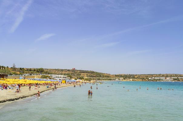 Spiagge Malta Ghadira Bay