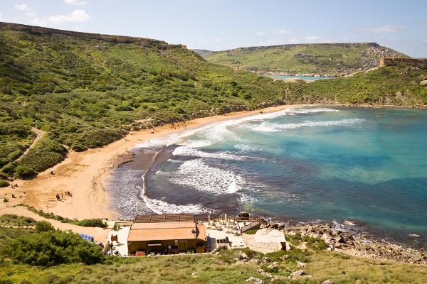 Spiagge Malta Ghajn Tuffieha