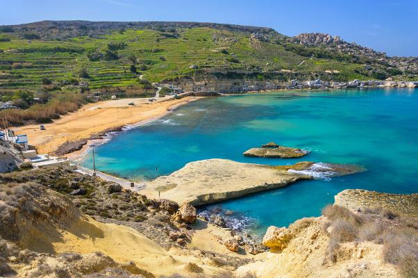 Spiagge Malta Gnejna Bay