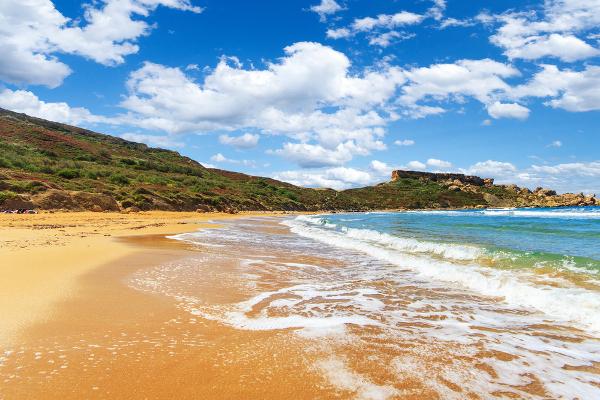 Spiagge Malta Golden Bay