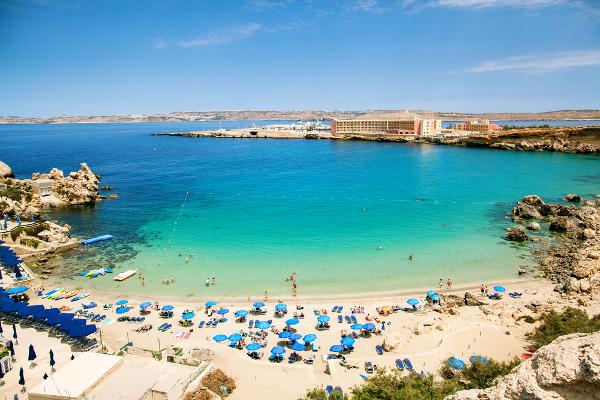 Spiagge Malta Paradise Bay