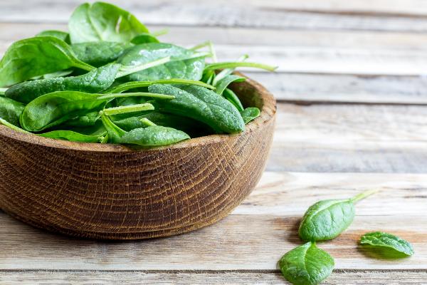 Super alimenti 40 anni spinaci