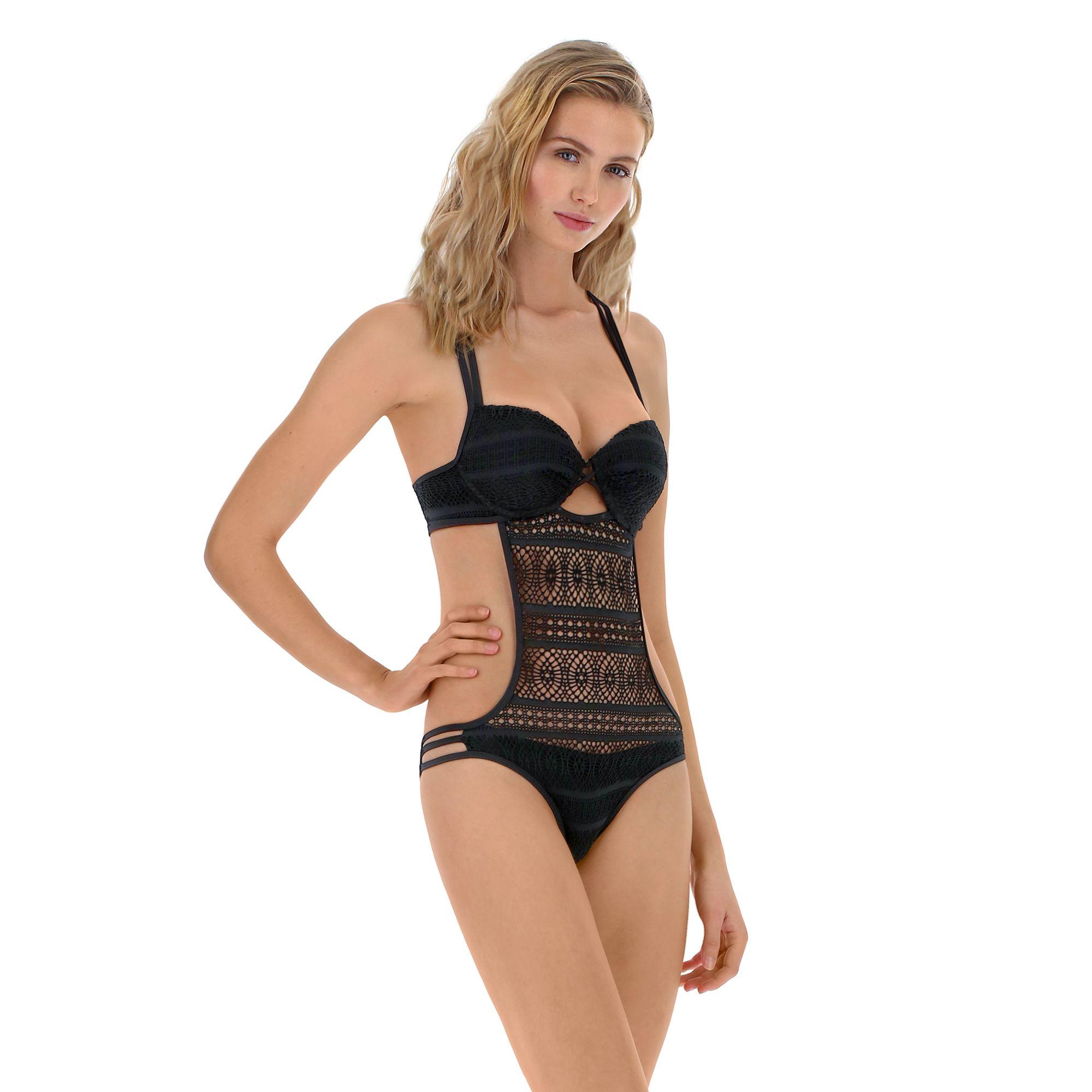Trikini nero Goldenpoint al prezzo di 44,99 euro