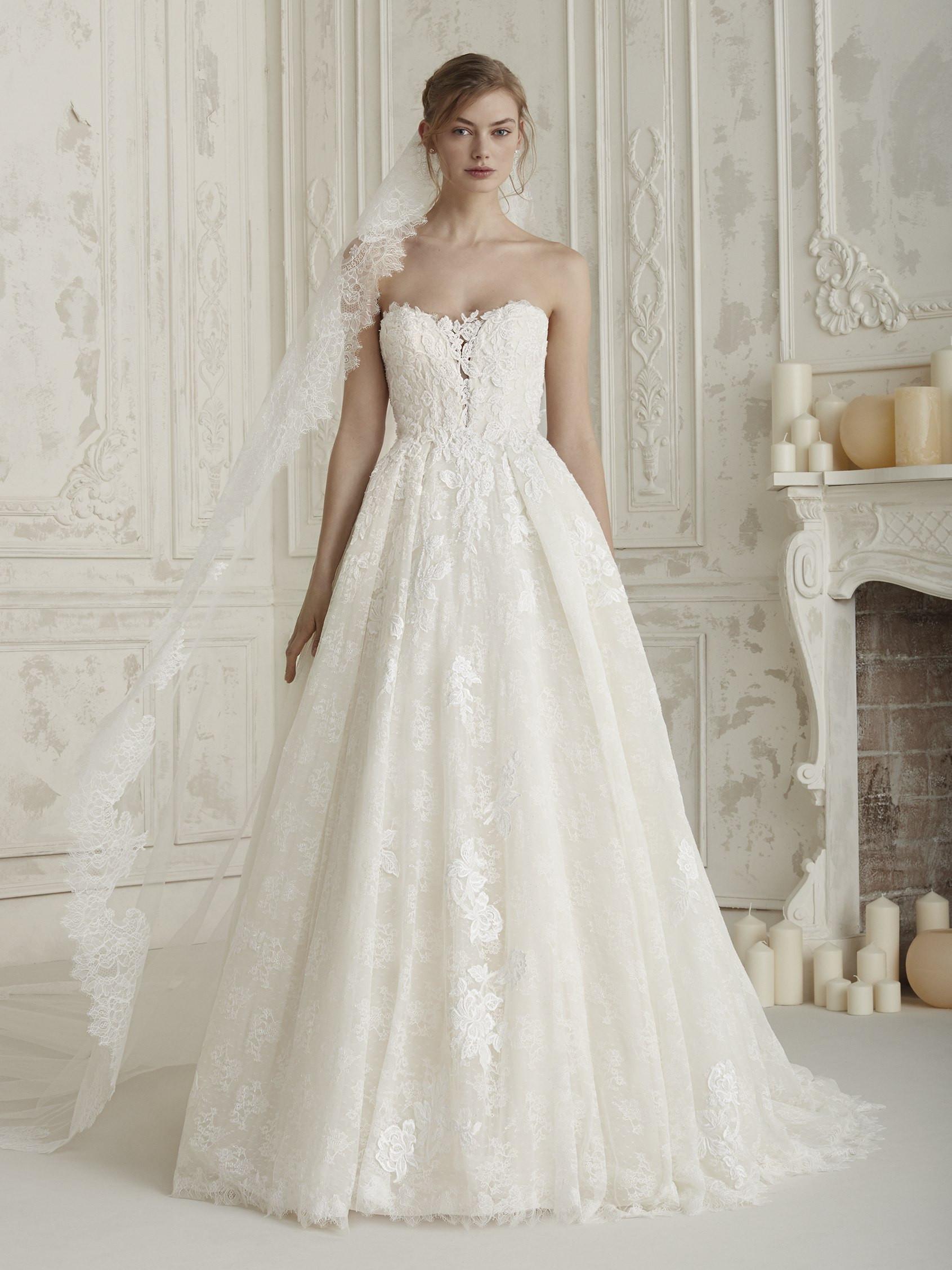 Vestito da sposa da principessa