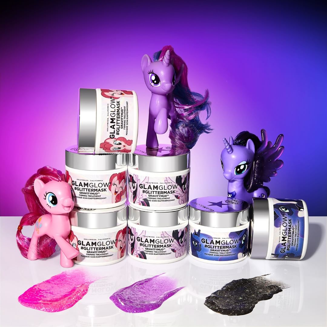 Unicorn alert: le maschere viso My Little Pony di Glamglow sono arrivate in Italia