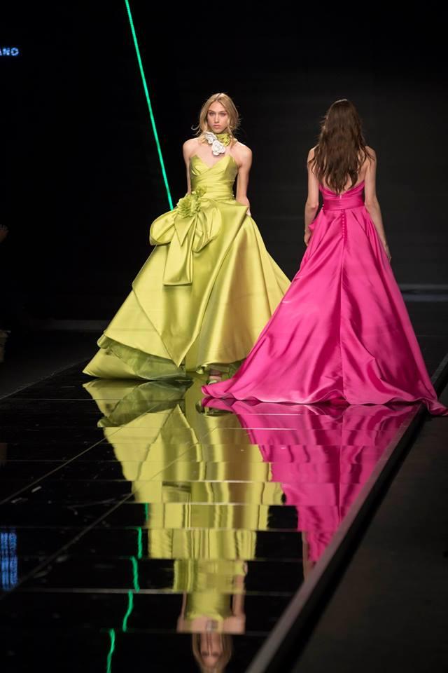 Abiti da sposa colorati Elisabetta Polignano fb