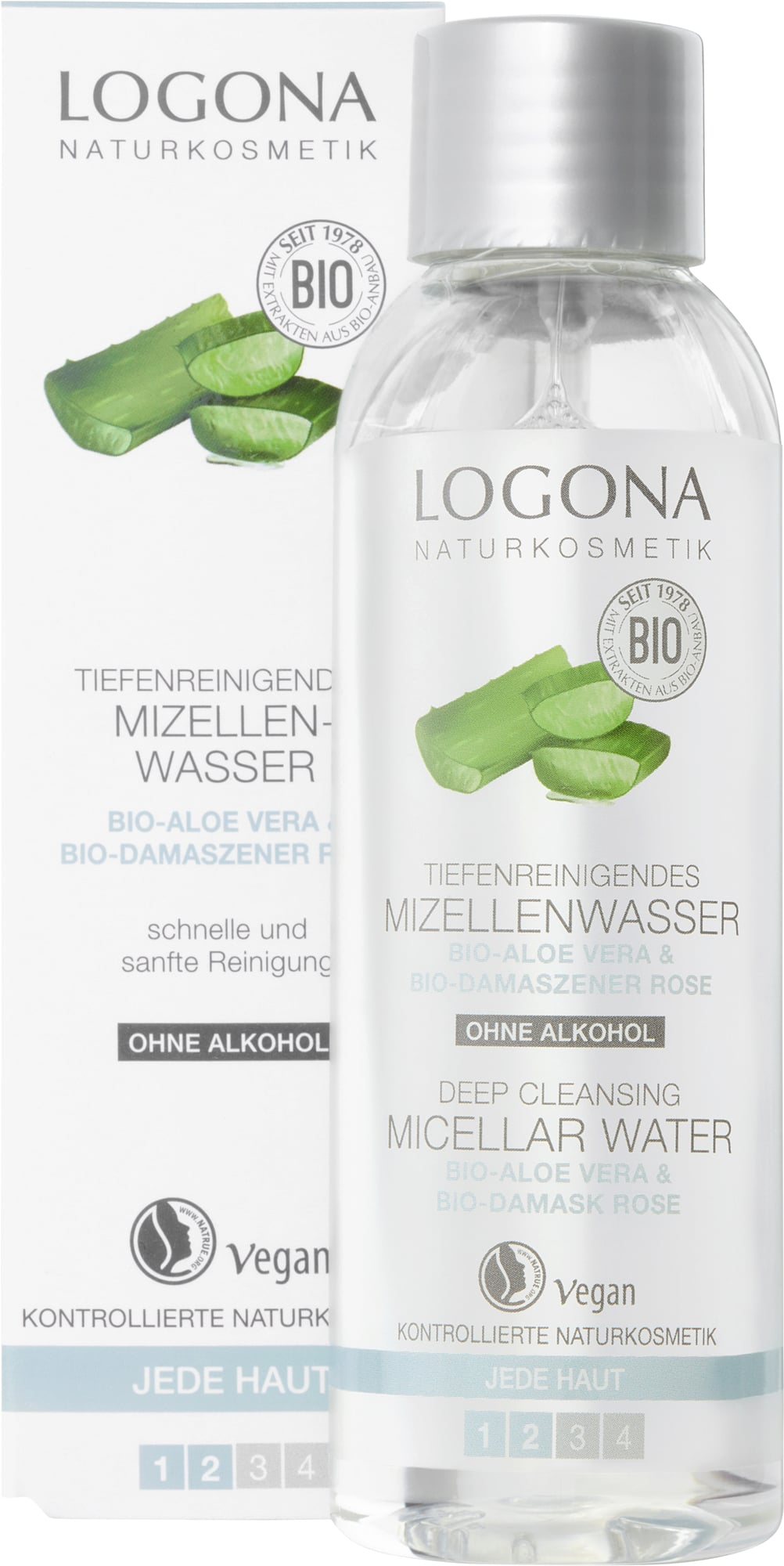Acqua micellare bio purificante Logona