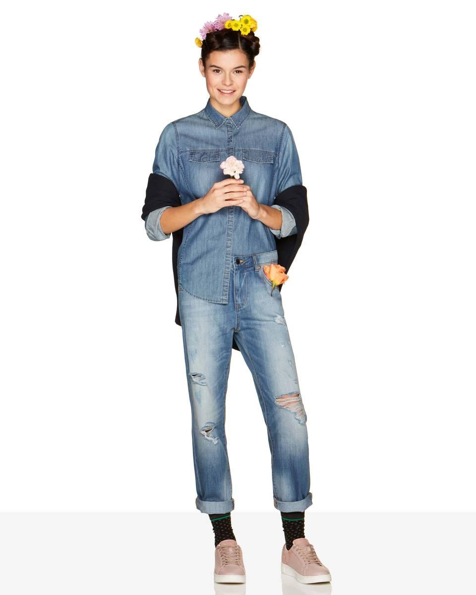 Jeans boyfriend Benetton a 49,95 euro