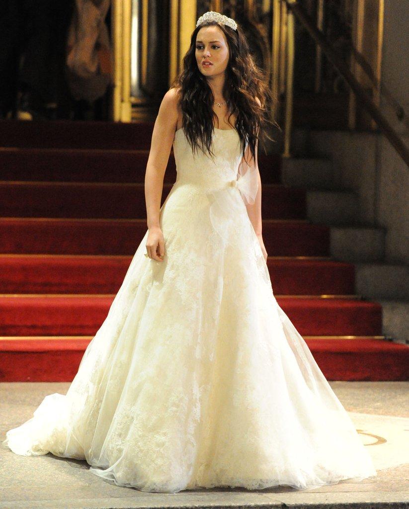 L'abito da sposa Vera Wang di Blaire Waldorf in Gossip Girl
