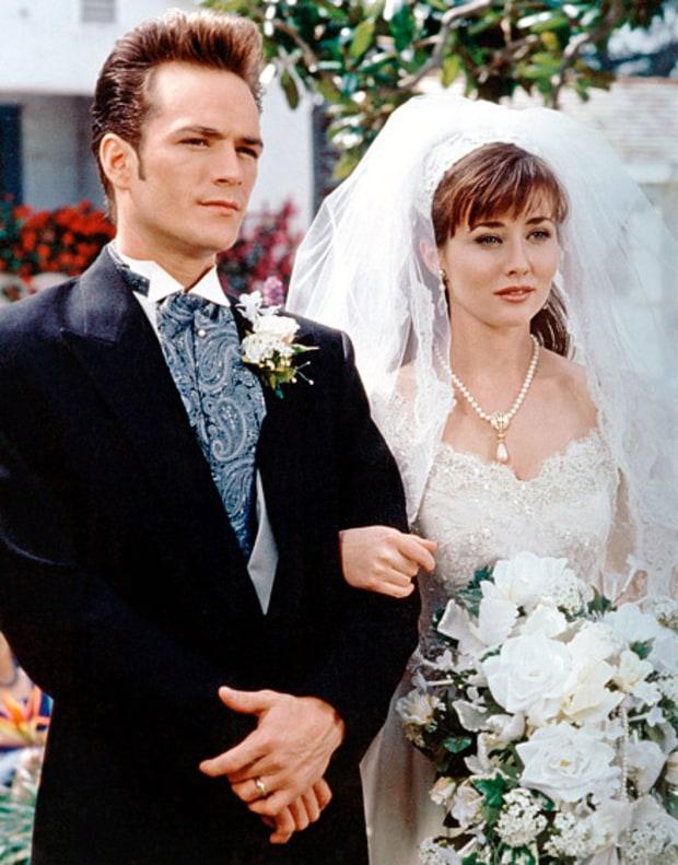 L'abito da sposa di Brenda in Beverly Hills 90210