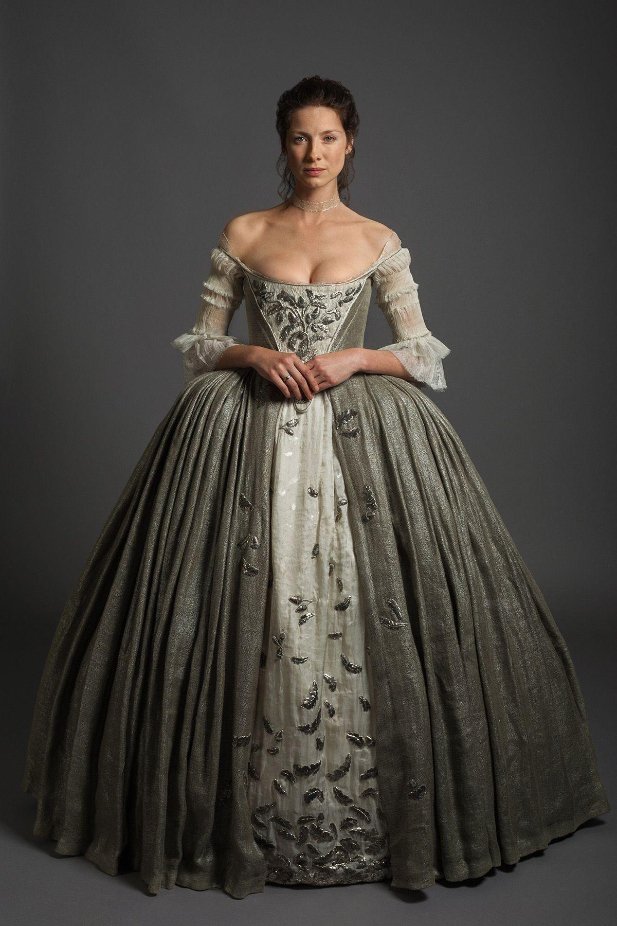 L'abito da sposa di Claire Fraser in Outlander