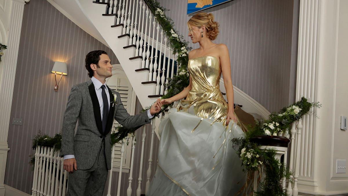 L'abito da sposa di Serena in Gossil Girl