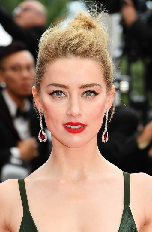 Make up di Amber Heard