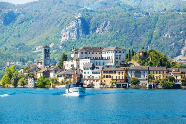 Orta San Giulio borghi più belli Nord Italia