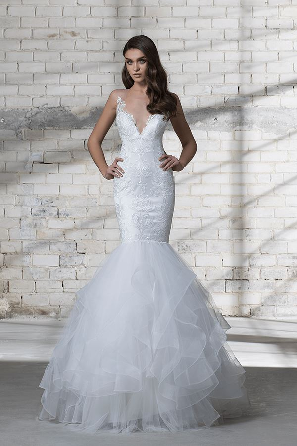 Vestito da sposa a sirena Pnina Tornai