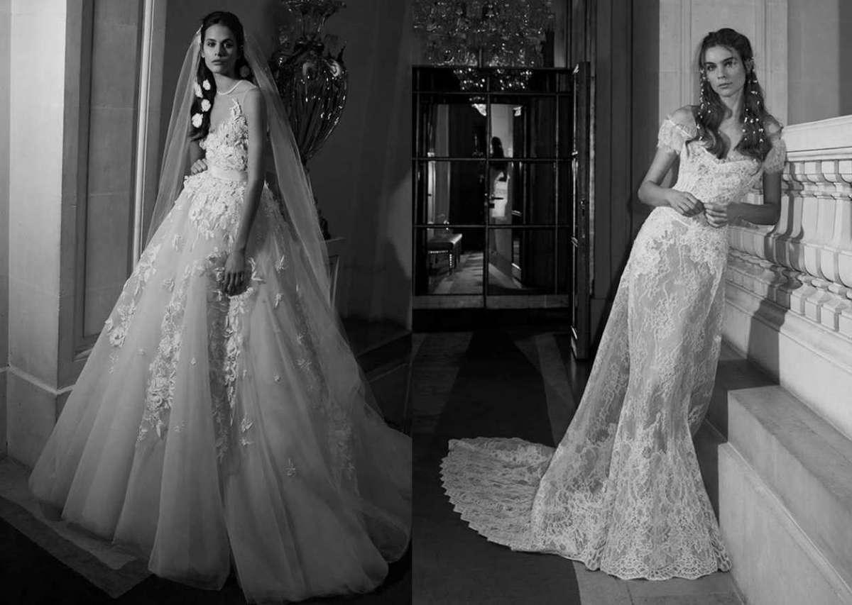 Abiti da sposa Elie Saab 2019  la nuova collezione  FOTO   0fab72d8a02