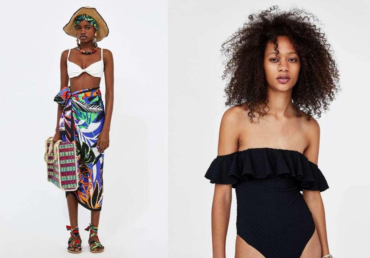 Costumi da bagno Zara e moda mare per l'estate 2018