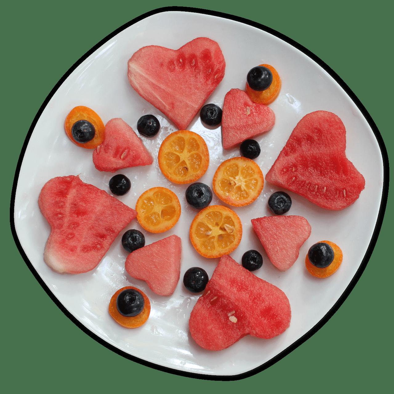 frutta e verdura già tagliata