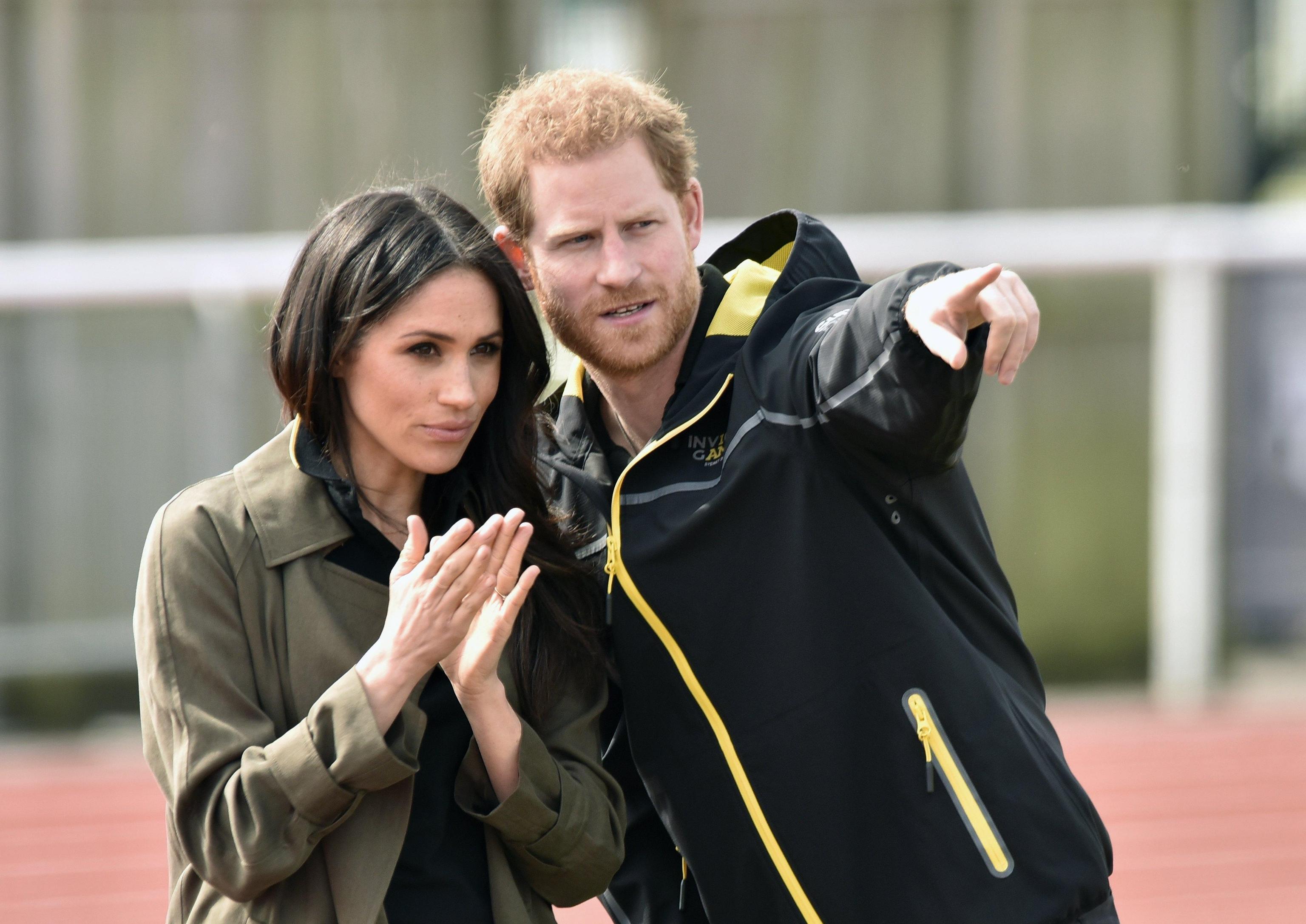 Prince Harry and Meghan Markle visit Bath University