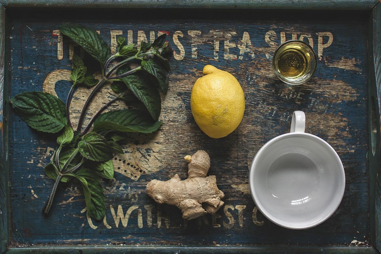 ricetta tisana zenzero e limone