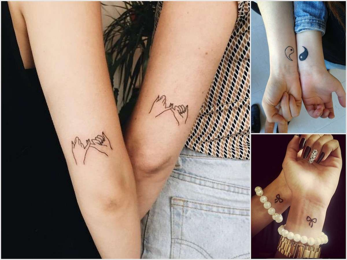 Tatuaggi sull'amicizia: simboli e disegni per un legame eterno