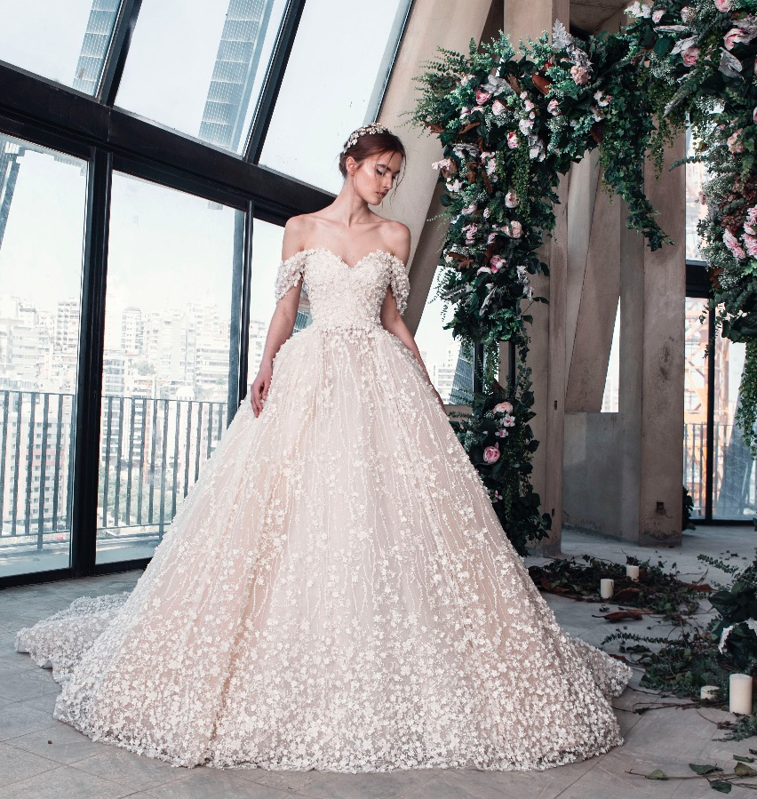 Abito da sposa da principessa rosa Tony Ward La Mariée